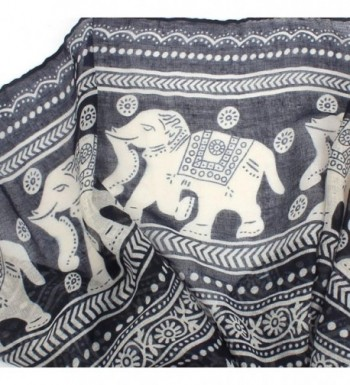Clearance Elephant Lightweight Scarves Antumn in Fashion Scarves