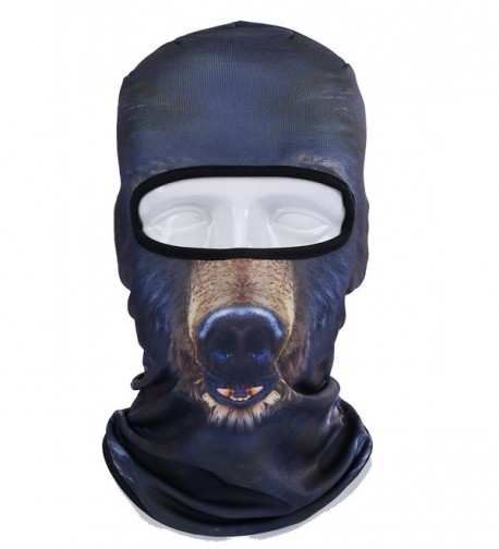 3D Animal Outdoor Cycling Motorcycle Masks Hood Hat Ski Balaclava Face Mask - Bbb08 - CT17YGZTQ5W