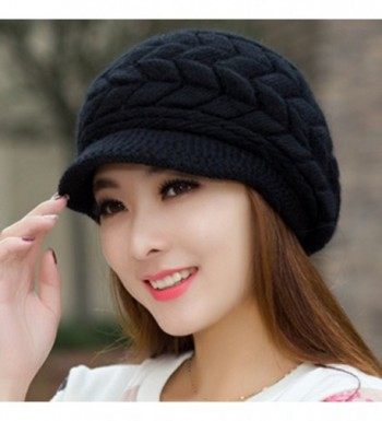 SportsWell Womens Knitted Winter Protective