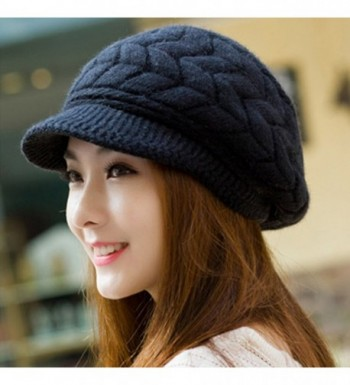 SportsWell Womens Knitted Winter Protective in Women's Skullies & Beanies