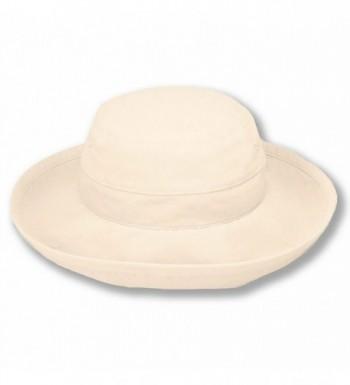 Sungrubbies Hats - Casual Traveler (XL- Natural) Wide Brim Packable Lightweight Travel Hat UPF 50 Sun Protective - C8114I9NEPJ