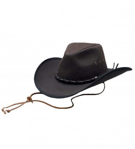 Outback Trading Bootlegger Hat - Brown - CM1158EA16H