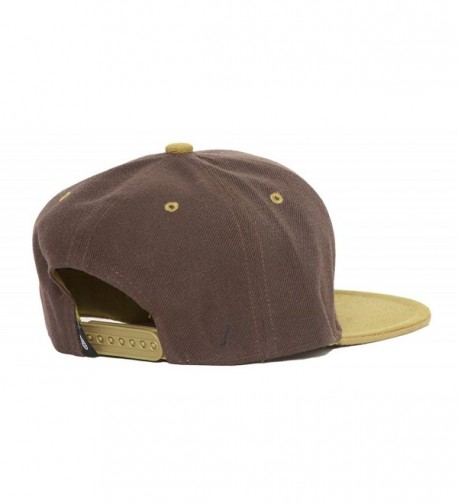 CTH Vintage Snapback Brown Olive in Women's Baseball Caps