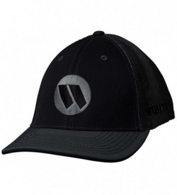 Worth 3D Embroidered Adult Mesh Baseball/Softball Trucker Hat. WTRUCK - Black/Charcoal - CN12CJ60DV5