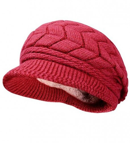 Braided Cabled Winter Crochet Newsboy