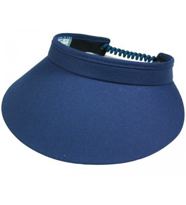 Town Talk Twisted Cord 4-inch Visor - C8114AKLTUH