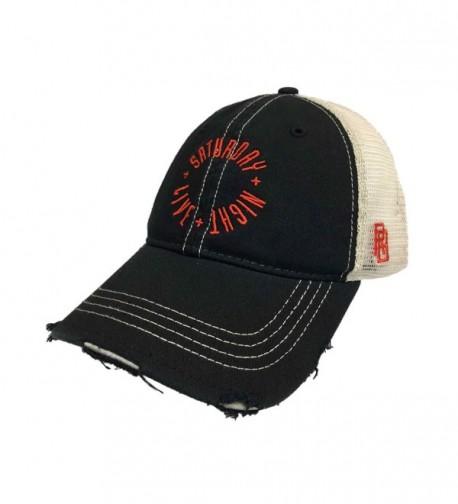 Original Retro Brand Saturday Night Live SNL Retro Brand Vintage 1991 Mesh Adjustable Snap Hat Cap - C11824R7CQR