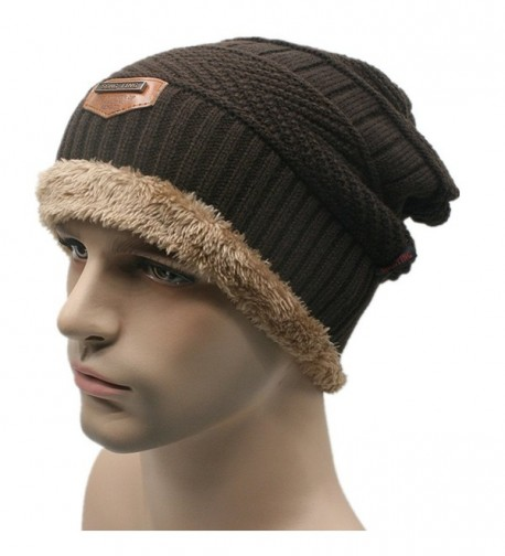 Fsz Men's Winter Hat Sport Beanie - Coffee02 - CN12N5SWI0X