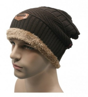 Fsz Men's Winter Hat Sport Beanie - Coffee02 - CN12N5SWI0X