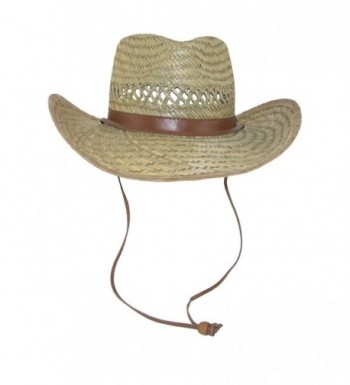 Dorfman Pacific Lightweight Outback Natural in Men's Sun Hats