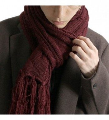 Royal Journey Womens Fashion Claret Red in Fashion Scarves