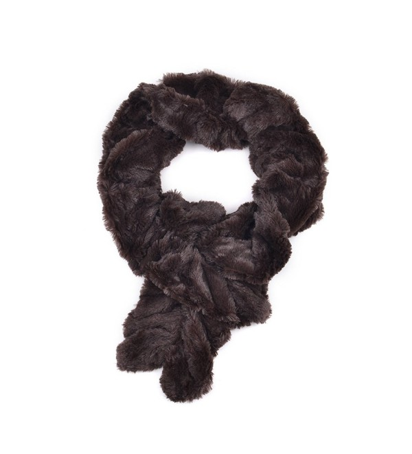 d4d46bee65a Winter Warm Fuax Fur Infinity Cowl Scarf Various Styles and Colors Tiger &  Stretchable Beige CU184UXK6IO
