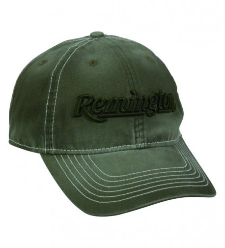 Remington Olive Unstuctured Enzyme Washed Cap Hat 157 - CT17Z6QW35U