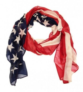 Falari American Flag Beach Scarf