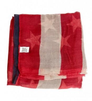 Falari American Flag Beach Scarf in Fashion Scarves