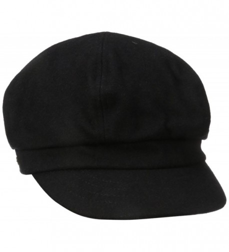 Betmar Women's Boy Meets Girl NewsboyHat - Black - CW112F1DOG1