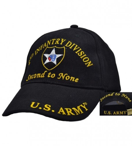 2nd Infantry Division Embroidered Ball Cap - CD123MYASYT