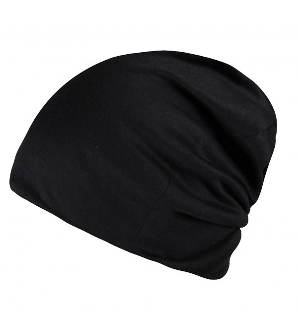 b6fb2e65c3a Daily Solid Cap Beanie That Fit Your Head Perfect Stretchy & Soft For Men  Women Black CY12NV4SP1Y