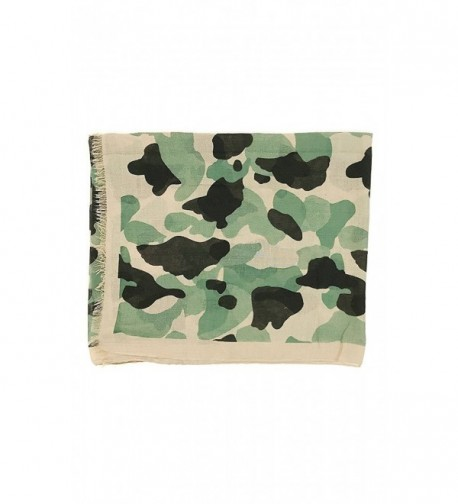 Unisex Cotton Camouflage Light weight Fashion in Fashion Scarves