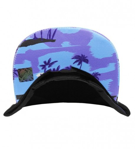 Tropical Hawaiian Snapback Adjustable Shadow