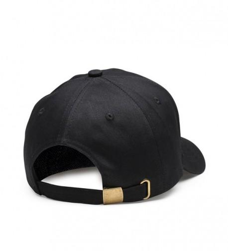 c3d932255 Men Women Adjustable Plain Baseball Cap Classic Unstructured Cotton Hat Low  Profile Embroidery Cap Black CB1867ERNHH
