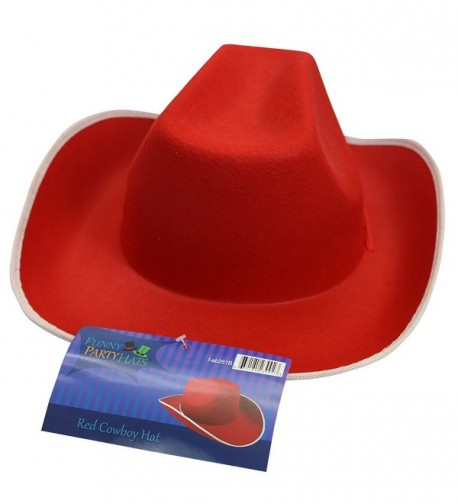 9ba6d79bc0bc0 Cowboy Hat Western Hat Rodeo Hat Costume Accessories by Red CT11J97F7HD