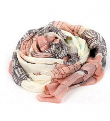 RICCOS (TM) Women Fashion Chiffon Elegant Long Print Scarf Wrap Ladies Shawl - CY12N36WVNB