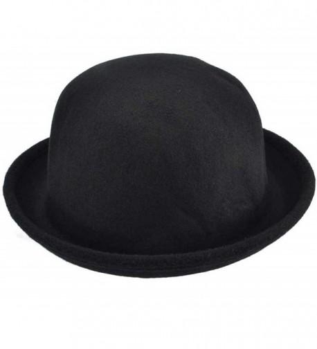 SYAYA Women Round Hat Summer Beach Hat Sun Protection XMZ22 - Black - C9121VGEAH1