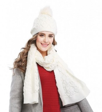 Bellady Womens Knitted Double Layers in Cold Weather Scarves & Wraps