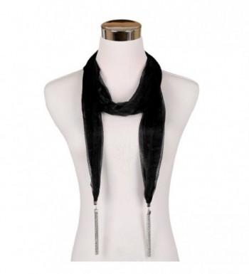 LERDU Necklace Fashion Pendant Accessories - Black - CK12C5OOMXB