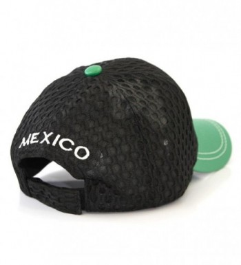 Mexico Symbol Embroidered Adjustable Baseball in Women's Baseball Caps