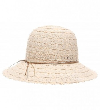 Womens Summer Crushable Vented Natural in Women's Sun Hats