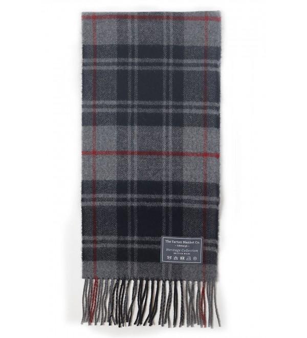 The Tartan Blanket Co. Scottish Lambswool Scarf Moffat Tartan - CV12E187M4P