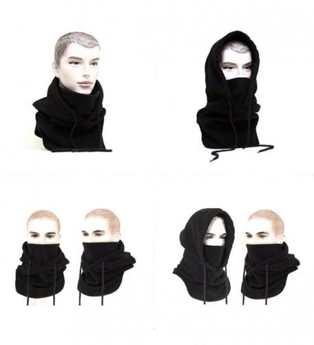 KT-Global Double Layer Fleece Mask Balaclava Winter Facemask Neck Warmer Multipurpose Scarf (Black5) - CX120NRWGE9