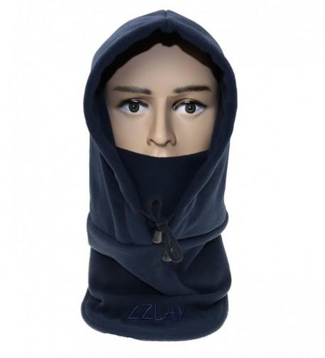 ZZLAY Balaclavas Hat Double Layers Thicken Winter Cap Neck Warm Ski Face Mask - navy - C2185SZO8WO
