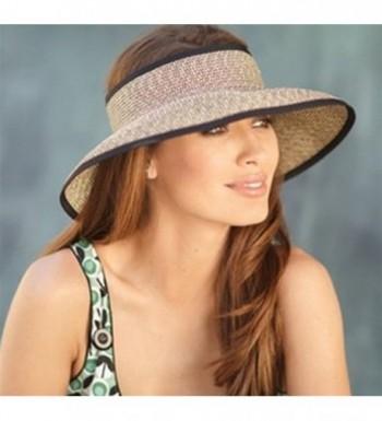 San Diego Hat Roll up Visor in Women's Sun Hats