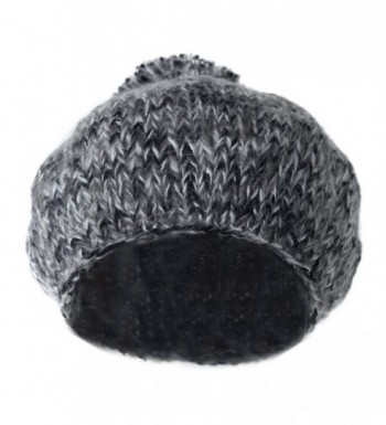 1b64d70f35197 Cute Slouch Beanie Beret Hat w  Pom- Classic Vintage Chunky Knit ...