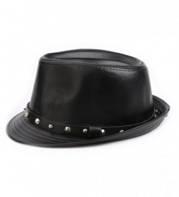 FADA Mens Fedora Hats Gangster in Men's Fedoras