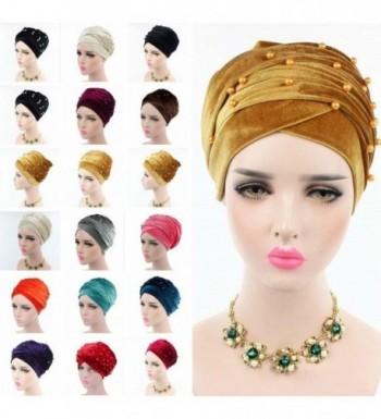 Helisopus Womens Luxury Headband Pleated in Fashion Scarves