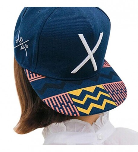 Malloom 2016 New Girl Women Hip-Pop Letter X Flat Hat Baseball Cap Hip-Hop Pe... - CA12DKK7LG9