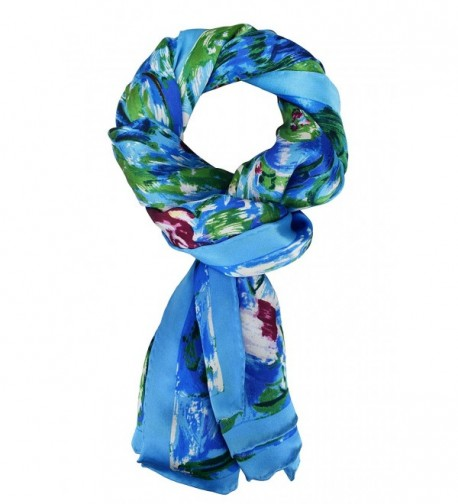 Elegna Luxurious Claude Painted Scarves