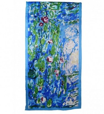 Elegna Luxurious Claude Painted Scarves in Fashion Scarves