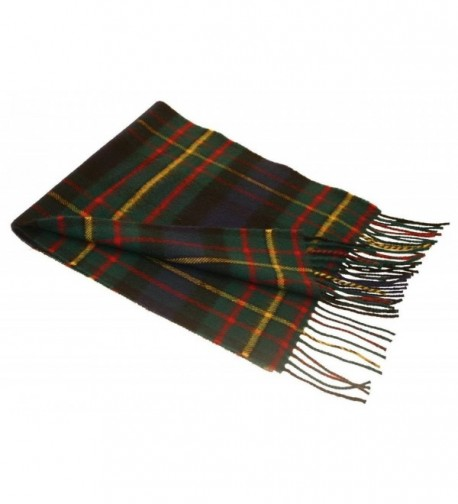 Lochcarron MacLaren Tartan Lambswool Scarf - CH115X2S3AZ