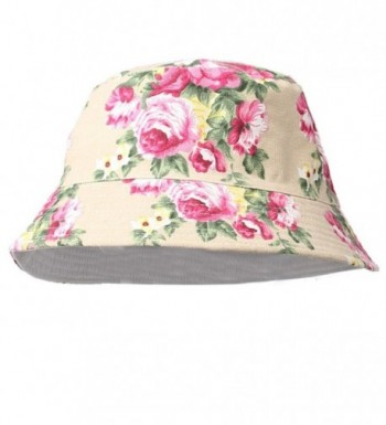 HP95(TM)2015 Fashion Women Sun Hat Summer Holiday Beach Outdoor Cap Bucket Hats - C - CM11W6OXDNV