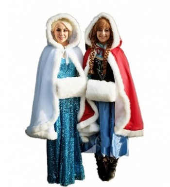 Womens Winter Hooded Bridal Christmas