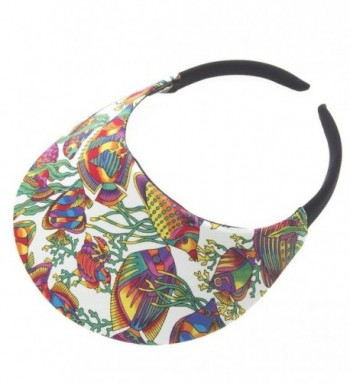 Tropical Fish White Visor - C912E3BEHXT