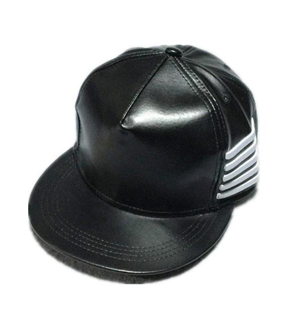 Voberry Unisex Summer Fashion Rivet Leater Baseball Cap Snapback Boy Hiphop Hat - A - C912EFNCSUJ