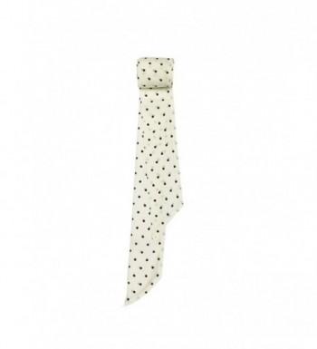 SilRiver Skinny Accessories Black Dot in Fashion Scarves
