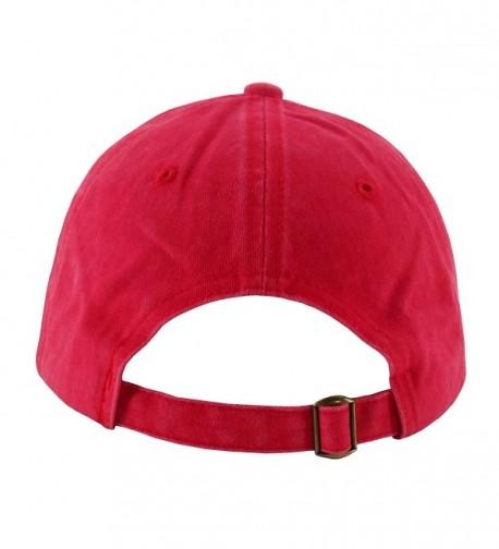 Ledamon Baseball Vintage Washed Adjustable in Women's Baseball Caps