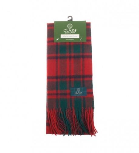 Clans Of Scotland Pure New Wool Scottish Tartan Scarf Macintosh Clan (One Size) - CF123BWPW7B